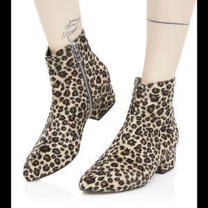 Current mood leopard booties